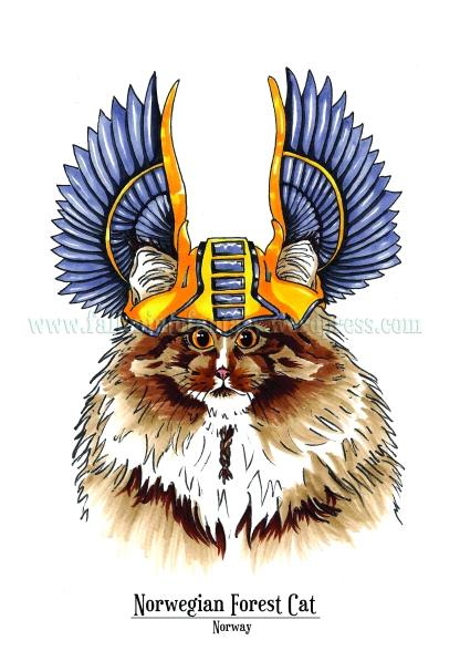 Feline Origins: Norwegian Forest Cat