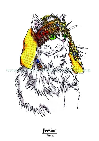 Feline Origins: Persian
