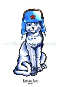 Feline Origins: Russian Blue