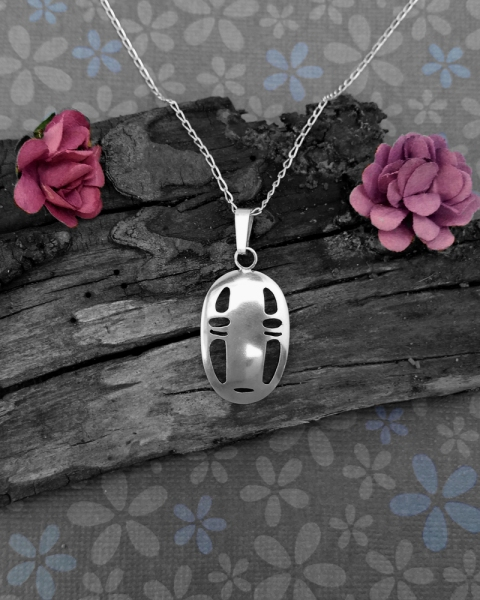 No Face Spirited Away Pendant