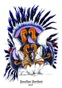 Feline Origins: Brazilian Shorthair